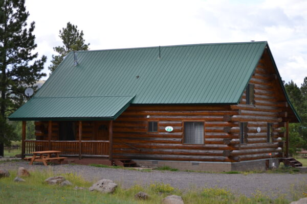Cabin facade